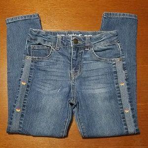 Girl's Cat & Jack skinny stretch jeans size 6x